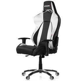 AKRACING PREMIUM Gaming Chair - Black/Silver V2