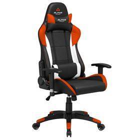 Alpha Gamer Orion - Black / White / Orange
