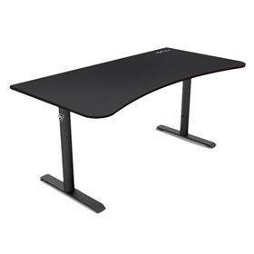 Arozzi Arena Gaming Desk - Pure Black