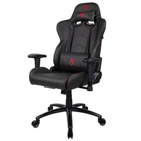 Arozzi Inizio Gaming Chair Black PU - Red logo