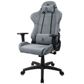 Arozzi Torretta Gaming Chair Soft Fabric - Ash