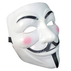 V for Vendetta Guy Fawkes Anonymous Maske