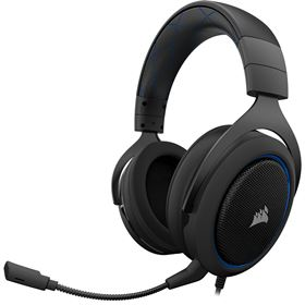Corsair HS50 Gaming Headset - Blue