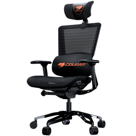 Cougar Gaming ARGO Gamer Stol - Sort