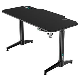 FOURZE D1400-E Gaming Desk - Black (hæve/sænke)