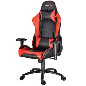 GEAR4U Blaze Gaming Chair - Black/Red