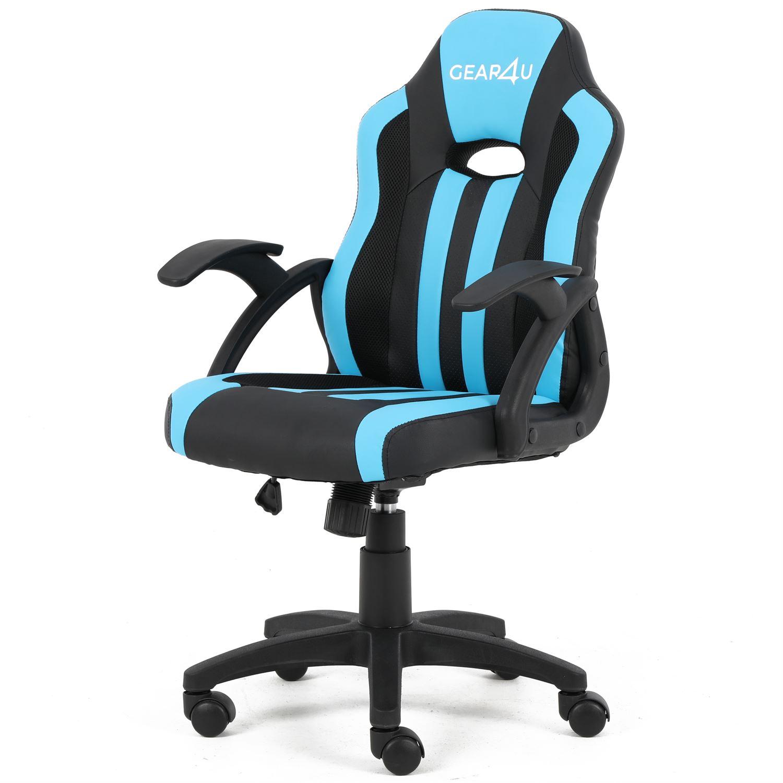 GEAR4U Junior Hero Gaming Chair BlackBlue