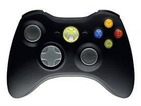 Microsoft Wireless Xbox 360 controller til Windows - Sort
