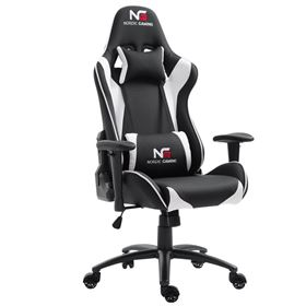 Nordic Gaming Racer Gamer Stol - Hvid/Sort