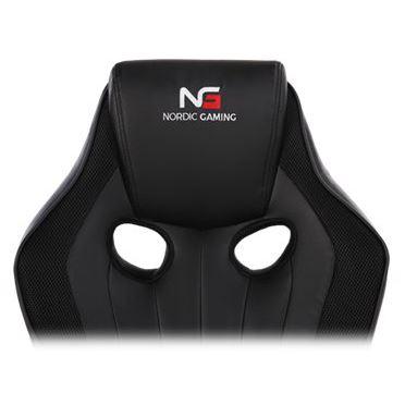 Nordic Gaming Challenger Gamer Stol Sort Køb hos WEBdanes.dk