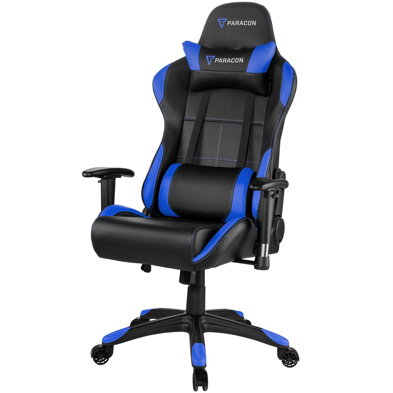 gaming stol Paracon ROGUE Gamer Stol   Rød   Køb hos WEBdanes.dk gaming stol