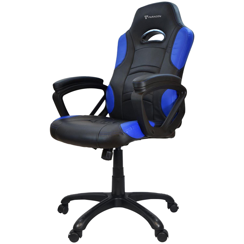 gaming stol Paracon HUNTER Gamer Stol   Sort   Køb hos WEBdanes.dk gaming stol