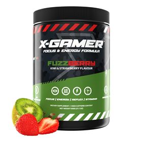 X-GAMER X-Tubz FuzzBerry (60 portioner / 600g)