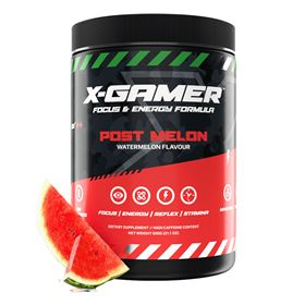 X-GAMER X-Tubz Post Melon (60 portioner / 600g)